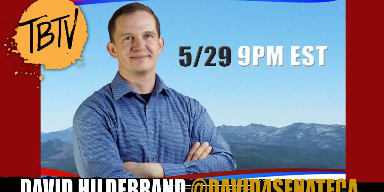 No Sellouts: U.S. Senate Candidate David Hildebrand For California